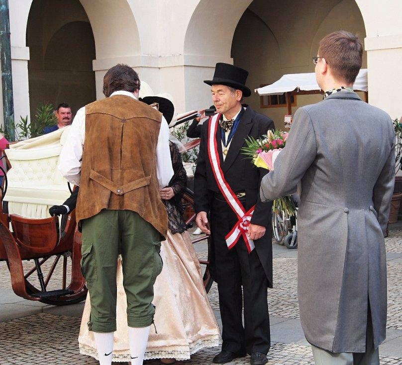 Císařské slavnosti na zámku v Zákupech.