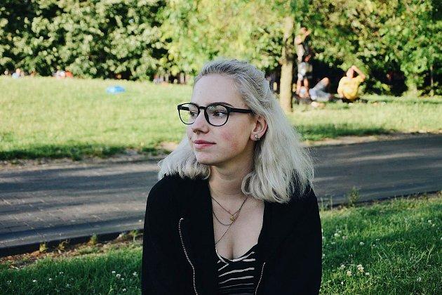 Magdaléna Vydrová, studentka a tatérka zNového Boru.