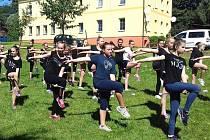 Českolipské mažoretky Adelline se v létě v Polevsku pilně připravovaly na světový šampionát.