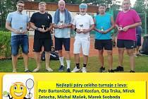 Sérii červencových turnajů zakončila akce v Jablonném.