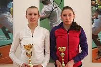 Turnaj žen se stal kořistí Terezy Smitkové (vlevo), která ve finále porazila Ekaterinu Alexandrovou.