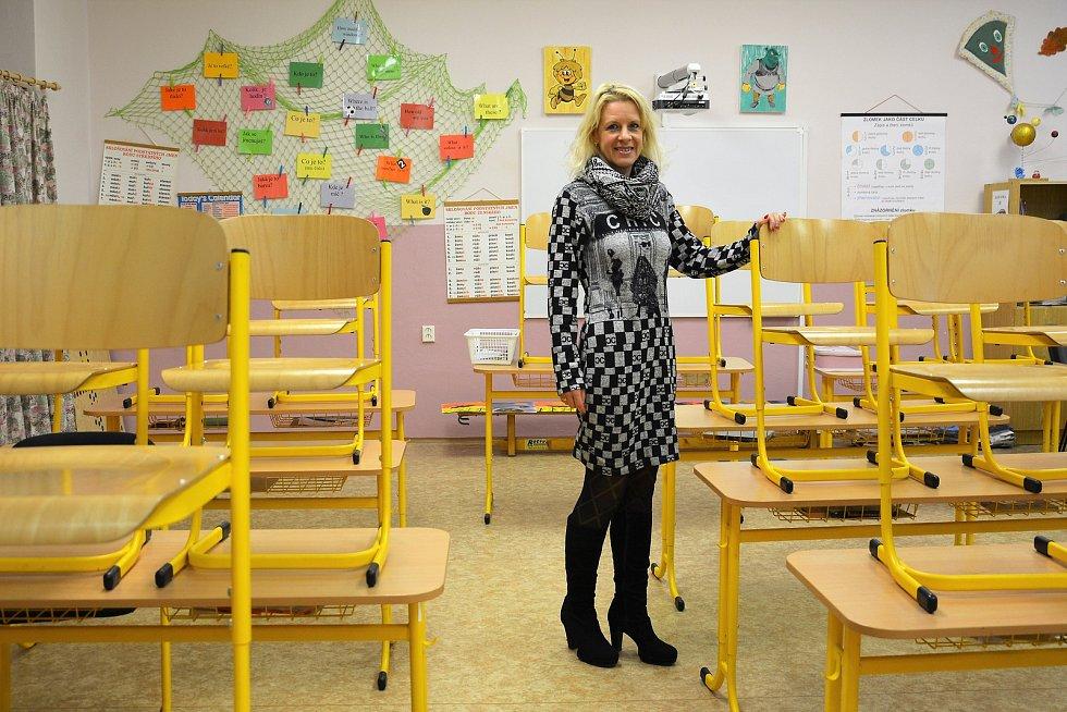 Věra Zoubková se plně zapojila do stávky, i když není odborářkou.