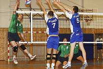 Volejbalisté českolipské Lokomotivy úspěšně zahájili play-off 1. volejbalové ligy.