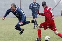 Ve 20. kole ČFL se týmy Hlavice a českolipského Arsenalu rozešly smírně 2:2.