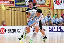 2. zápas: FBC BRZDY CZ Česká Lípa - FBŠ Hattrick Brno 7:2.