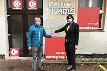 Jiráskovo divadlo v České Lípě.
