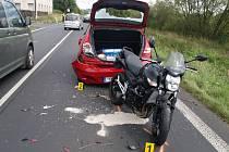Dopravní nehoda u Žizníkova.