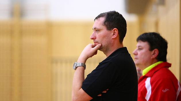 Trenér Karel Kruliš.