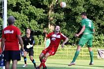 V prvním přátelském utkání prohráli fotbalisté Boru s Mšenem 0:1.
