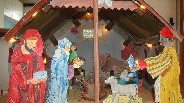 Desítky betlémů pod jednou střechou lze na Českolipsku vidět ve Sloupu v Čechách.