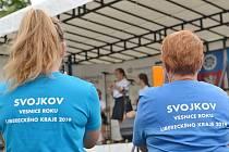 Svojkov na Českolipsku O rok déle si obec Svojkov na Českolipsku udrží za Liberecký kraj titul Vesnice roku.