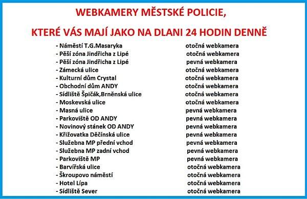 Městská policie vČeské Lípě má profil na sociální síti. Distancuje se od něj.