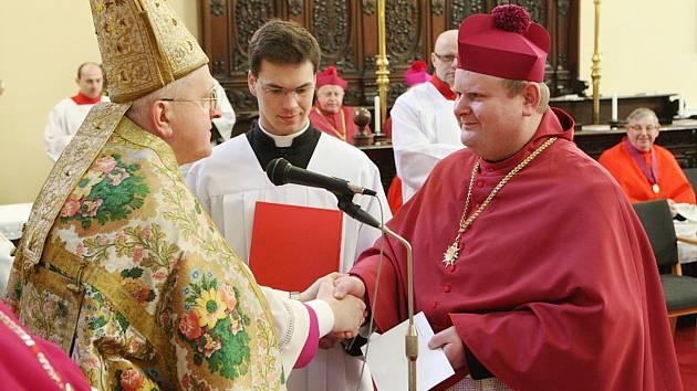 Jan Nepomuk Jiřiště (vpravo).