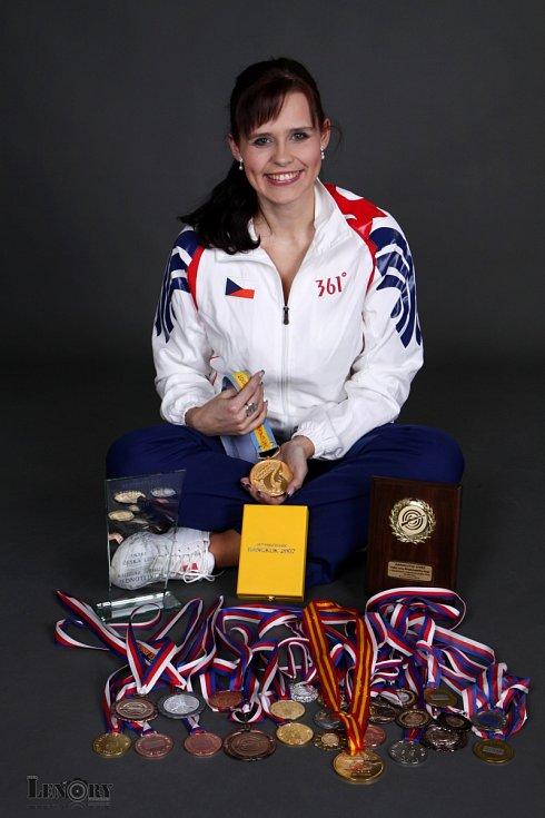 Zuzana Cinibulková (rozená Šostková) má za sebou skvělou kariéru ve sportovní střelbě.