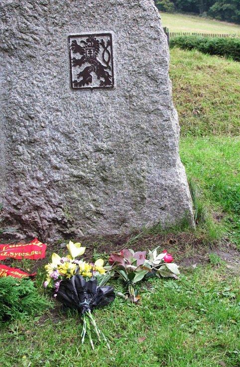 Na hraničním přechodu Dolní Světlá-Waltersdorf proběhla v sobotu pietní vzpomínka na padlé obránce hranic z roku 1938.