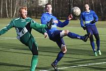 Poslední zápasový test před jarním startem v divizní soutěži absolvuje FC Nový Bor účastník 1. března, kdy od 15 hodin vyzve FK Dobrovice.