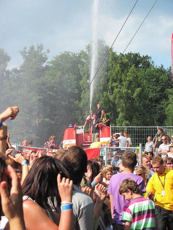 Festival České hrady na Bezdězu.