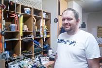 David Pátra, údržbář z novoborské sociální ubytovny.
