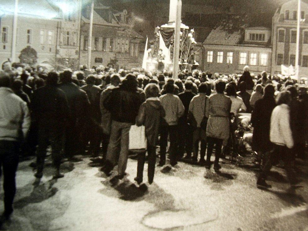 Sametová revoluce 1989 na českolipskiém okrese.