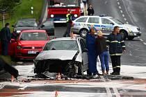Kopec u Chotovic je místo, kde dochází k dopravním nehodám velmi často.