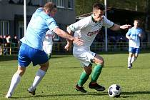 Fotbalisté Nového Boru mají v divizní tabulce 30 bodů a patří jim 12. příčka.