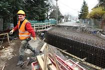 Oprava mostu v Žandově potrvá do konce letošního června.
