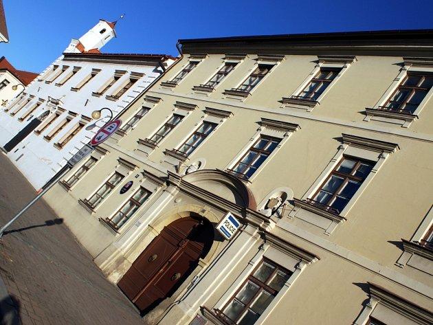 Radnice ve Slavkově u Brna - ilustrační foto.