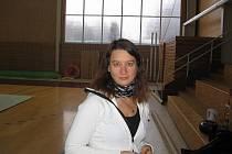 Trenérka vyškovských moderních gymnastek Kateřina Kapounková