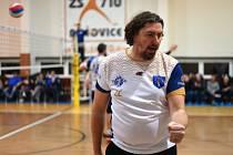 TJ Sokol Bučovice, volejbal, muži, I. liga. Zbyněk Čížek, manažer a trenér