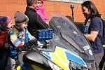Vyškovští policisté ukázali zájemcům svou práci na Dni otevřených dveří.