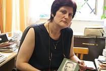 Historička Renata Kotulánová připomněla památku svého dědečka Jana Hona.