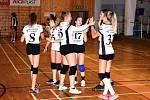 V Břeclavi se starším žákyním Volejbalu Vyškov dařilo. Vyhrály tam první kvalifikační turnaj krajského přeboru.
