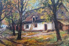 Výstava Tři generace rodiny Kachlíkovy je k vidění ve Hřbitovním kostele Panny Marie ve Vyškově.