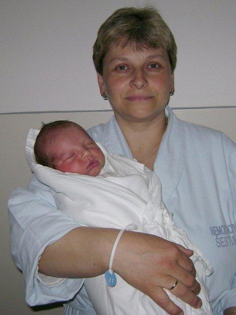 Martin Vrána s maminkou Annou, 52 cm, 4,05 kg, 13. dubna 2008, Vyškov