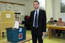 Místostarosta Vyškova a lídr strany ODS Karel Jurka.