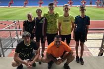 První prázdninový den bylo v Ostravě Mistrovství Moravy a Slezska starších žáků. Nechyběli tam zástupci Orla Vyškov.