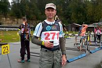 Vladimír Haumer, závodník a trenér Klubu biatlonu Vyškov