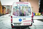 Nové auto v Bučovicích přepraví důchodce i invalidy.