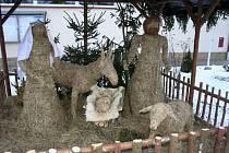 Ve Hvězdlicích na Vyškovsku mají vůbec poprvé k vidění betlém.