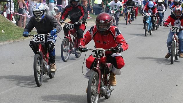 Moped rally Rychtářov.