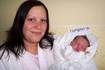 Laura Englová s maminkou Radkou, 51cm, 3,84kg, 8.května, Vyškov