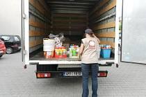 Charita Vyškov odeslala pomoc do oblastí postižených povodněmi.