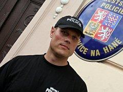První ivanovický strážník Ivan Gibala.