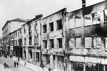 Následky bojů. Výročí 75 let od osvobození posledních obcí na Vyškovsku.