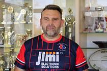 Milan Šťourač, nový trenér ragbistů  Jimi RC Vyškov.