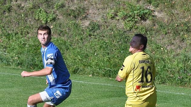 Fotbalisté Bohdalic - ilustrační fotografie.