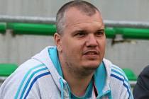 Trenér Petr Kalousek.