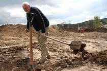 Archeologové v Rousínově objevili vykopávky z doby římského osídlení.