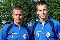 V základní sestavě fotbalistů TJ Sokol Bohdalice v I. B třídě pravidelně nastupují otec Ivan (44) a syn Jakub (22) Drbalovi.