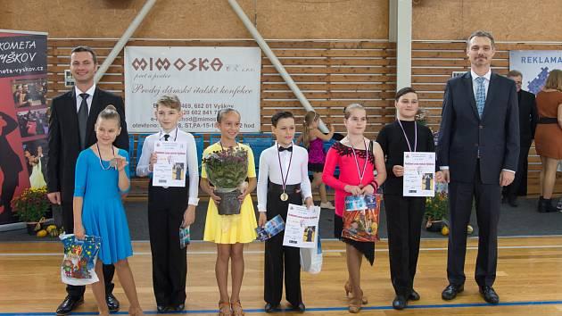 Domácím tanečním párům se podařilo získat několik cenných medailí.